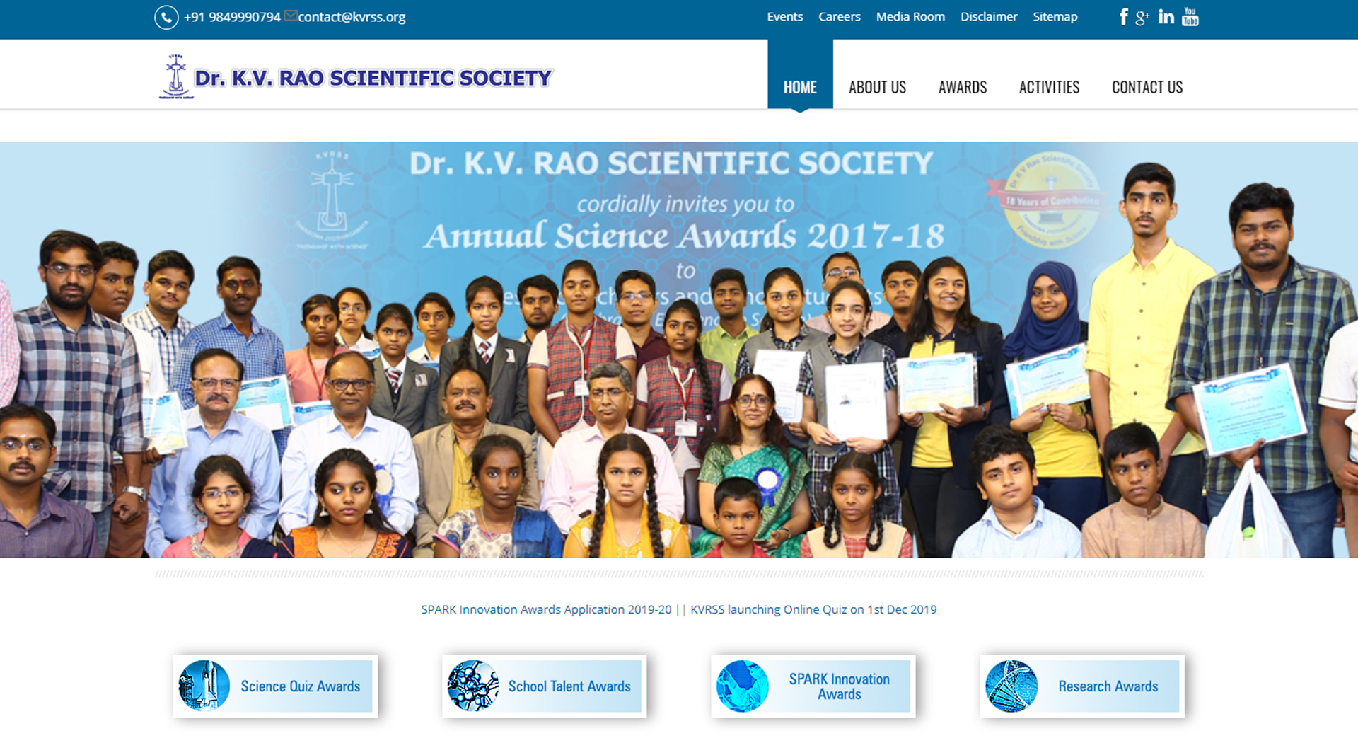 KV Rao Scientific Society