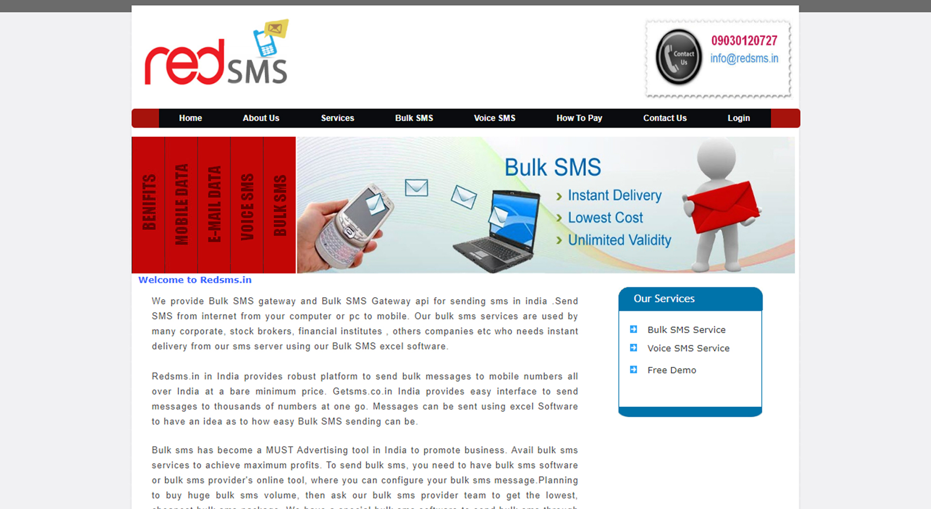 Red SMS